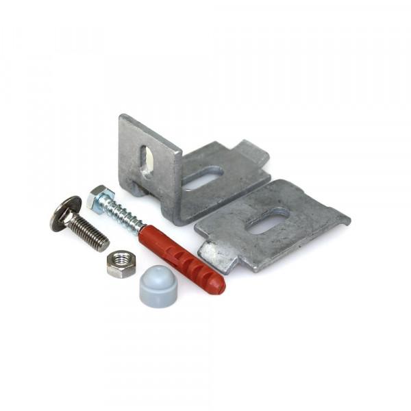 verzinkter Wandanschluss für Stahlmattenzaun