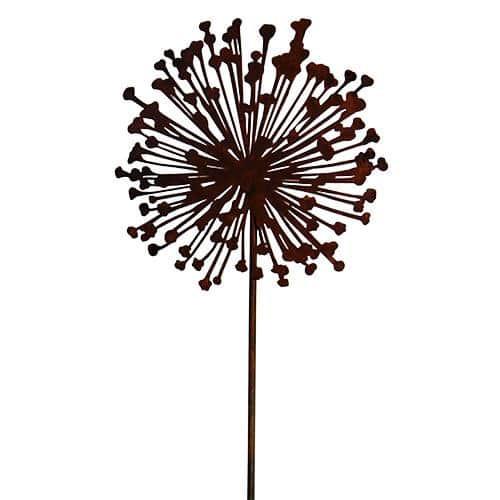 Edelrost gartendeko Rost metall Blumenstecker Bume