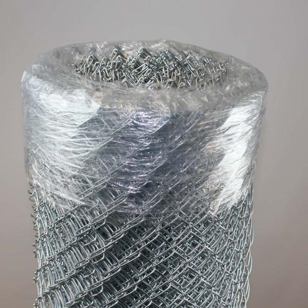Maschendrahtzaun verzinkt 1000 mm, Masche 30x2,5 mm, 12,5 Meter