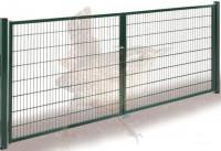 DINO Höhe 1250mm, Tor Basic 2-flgl. 4000mm, grün