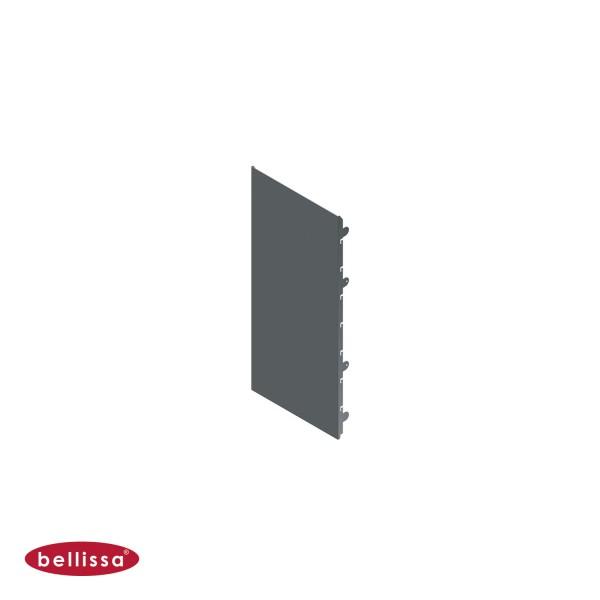 Corten Stahl 360x800 mm Ansicht vorne