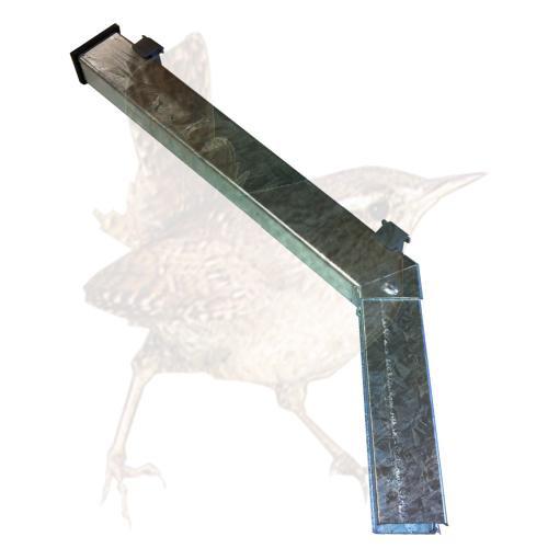 Übersteigschutz MS 45° 400 mm vz Zulage