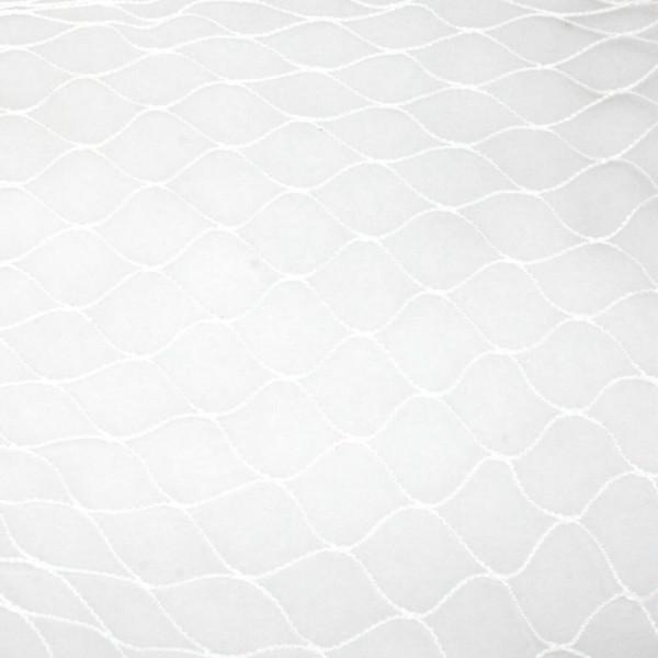 Vogelschutznetz weiß Maschung 5x5 cm