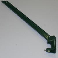 elkosta Stacheldrahthalter DP48 540 mm grün Mitte - Außen