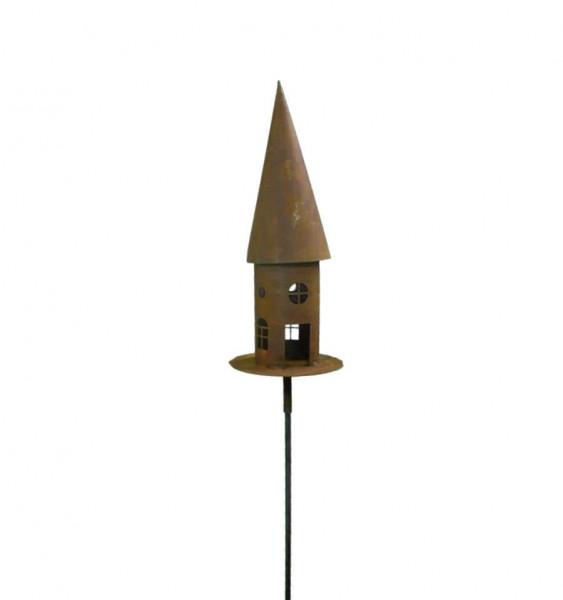 Rost Vogelhaus Typ 2 530 mm auf Stab