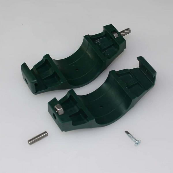 Doppelschelle für Zaun Pfosten 42 mm