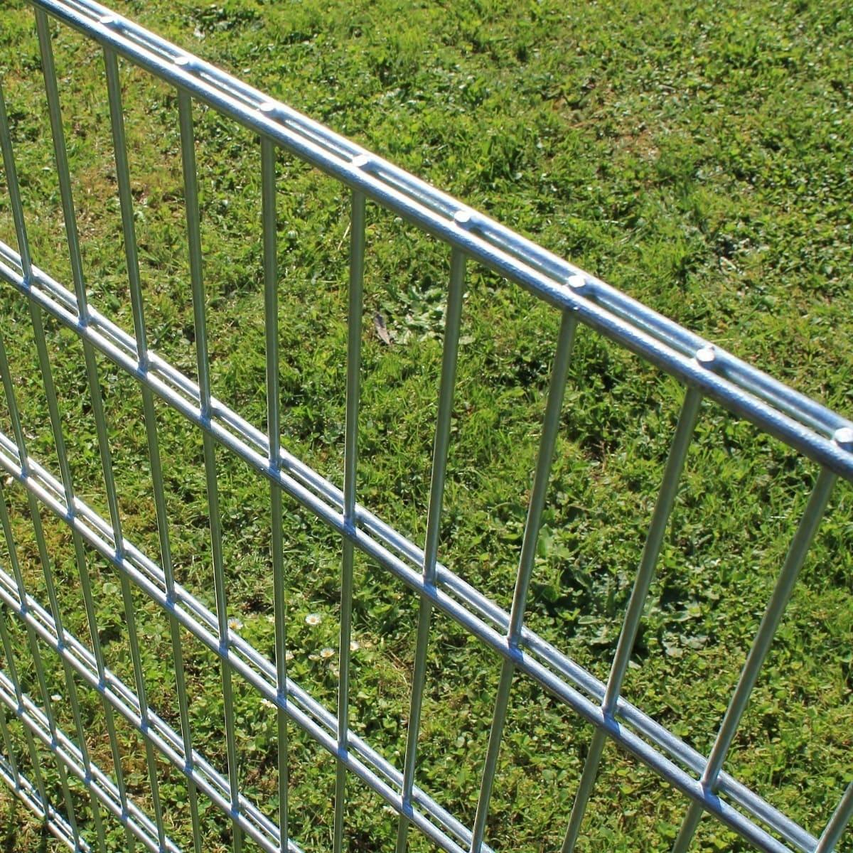 Angebot Gitterzaun Doppelstabmatten 6 5 6 Gartenzaun Zaunpaket
