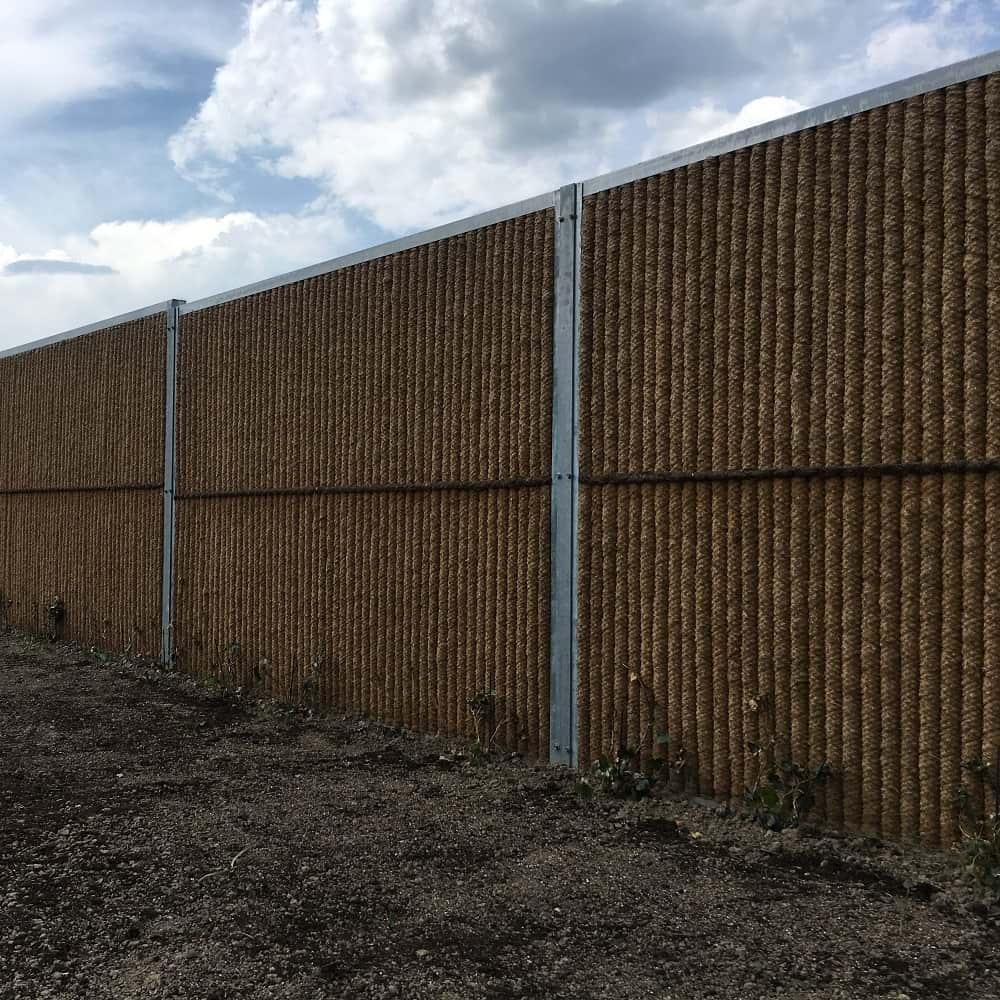 Garden Wall Der Naturliche Sichtschutzzaun Aus Kokos Auch Zum