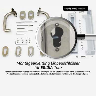 Gartentor Schloss Montageanleitung
