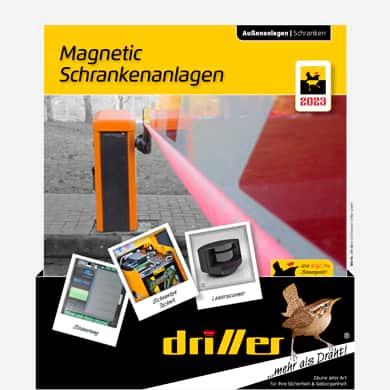 Schrankenanlagen von Magnetic elektrische Schranken