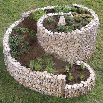 gabionen körbe günstige preise. gabionen gartengestaltung, Hause und Garten