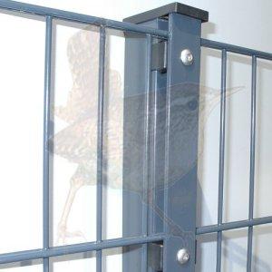 doppelstabzaun der stabile gartenzaun f r ihr wertvolles grundst k grenzzaun stabile. Black Bedroom Furniture Sets. Home Design Ideas